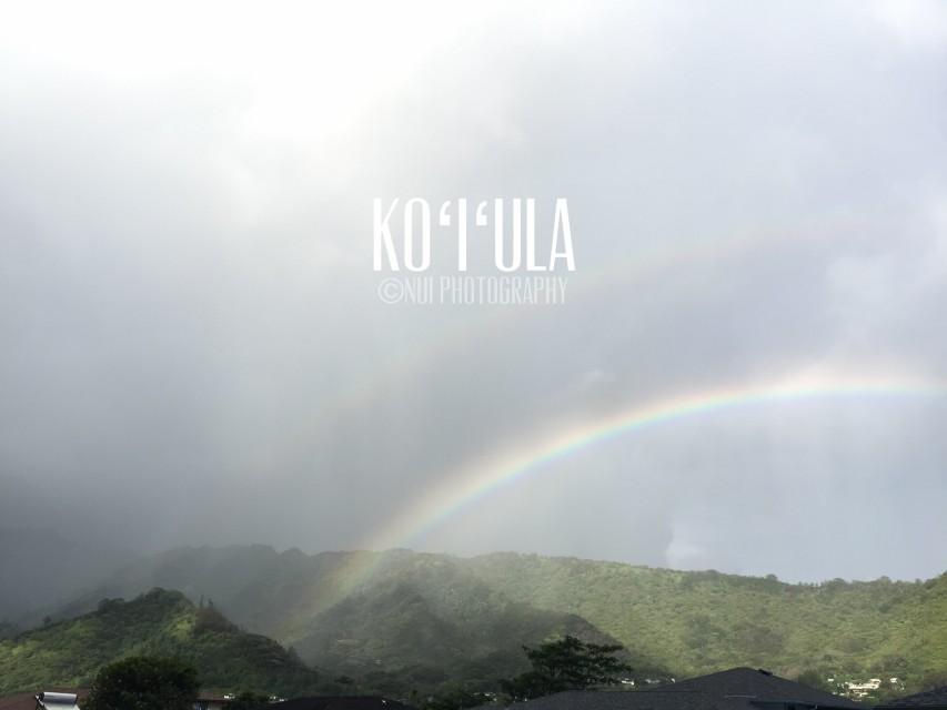 ハワイ 語 虹 ハワイ語で虹はaoakua?それともanuenue??