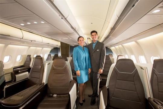 ハワイアン航空、プレミアムキャビンにフルフラットシートが登場【ハワイアン航空】
