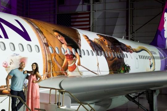 ハワイアン航空、ディズニー最新映画『モアナと伝説の海』とのタイアップを発表