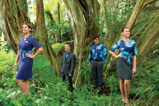 ハワイアン航空、シグ・ゼーンによる制服の新デザインを発表