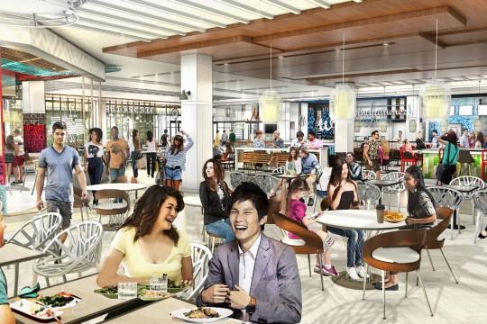 アラモアナセンターにて 2017 年も新しい店舗やレストランがオープン  エンターテイメントやイベントも充実