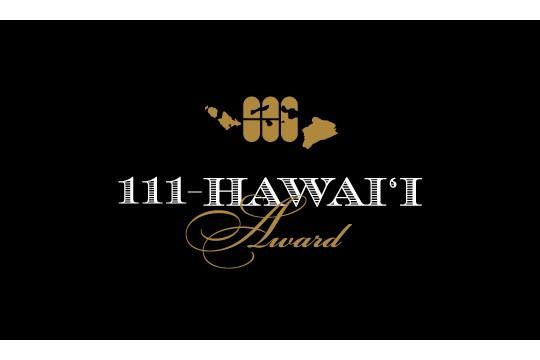 111 Hawaii Award 「111ハワイ・アワード」