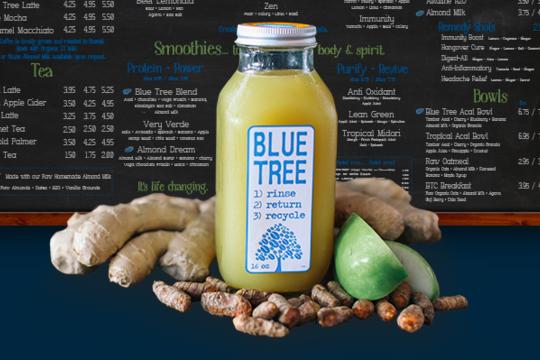 Blue Tree Cafe 「ブルー・ツリー・カフェ」