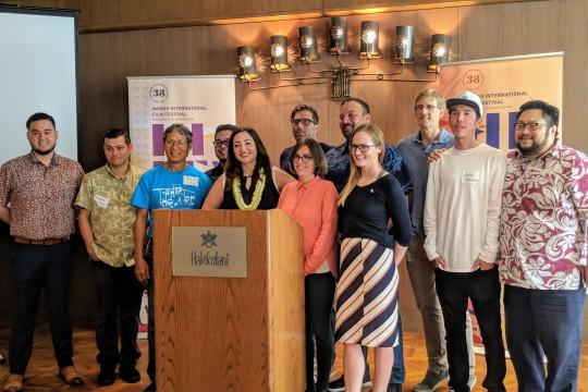 レポート:斎藤工も登場!ハレクラニ提供「ハワイ国際映画祭」