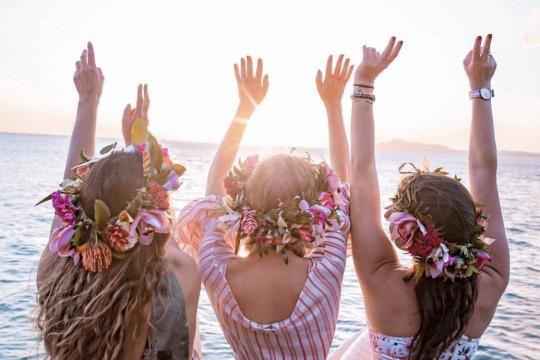 ハワイでは毎日がレイの日!