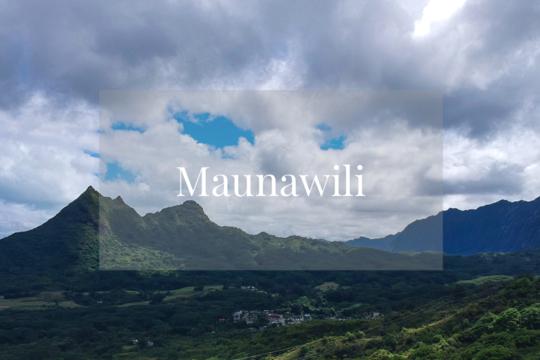 メレの中のハワイ百景~オアフ島マウナヴィリ