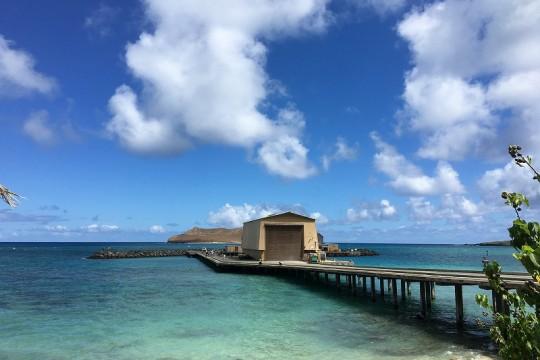 ハワイで防波堤釣りを楽しもう!