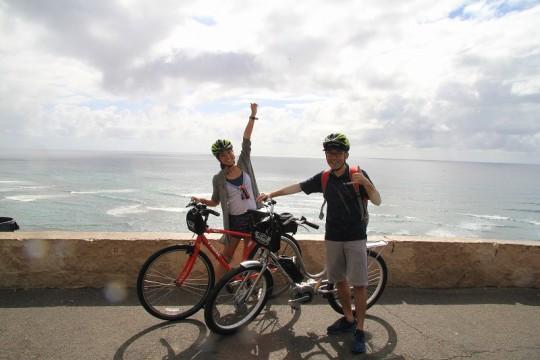 ワイキキ近郊を気軽に楽しむサイクリングツアーが新登場!