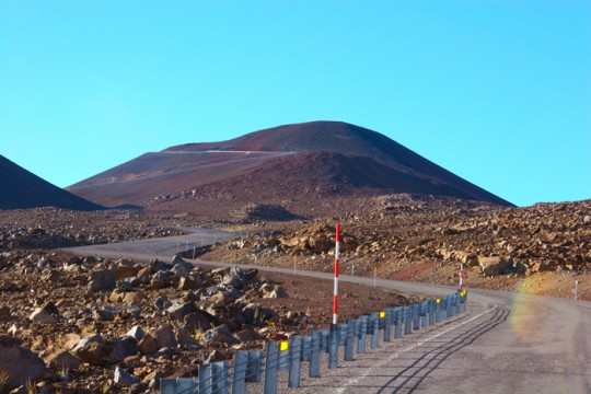 マウナケア山頂への道が再オープン