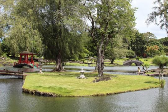 日系人を偲ぶジャパニーズ・ガーデン