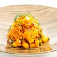 タオルミーナ の夏季限定のマンゴーメニューに今年はマンゴーパスタが登場!