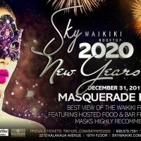 2020年の幕開けは、スカイワイキキの仮面舞踏会で華やかに!