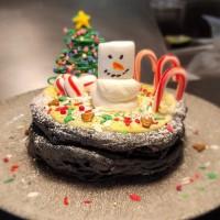 バサルトのクリスマス限定DIYパンケーキとホリデーメニュー! プライムリブのファミリーパックも予約受付中