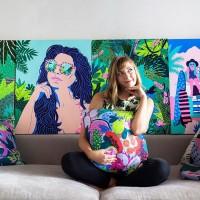キュートでポップなアートがニュートレンド!期待のアーティスト、Kim Sielbeck