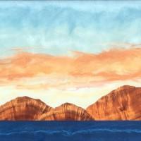 アブストラクトなアートが美しい、ハワイ島アーティストTimothy Allan Shafto