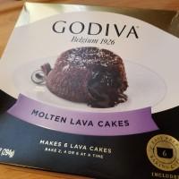 """""""GODIVAのMoleten Lava Cake""""で簡単ハワイのレストラン風デザート"""