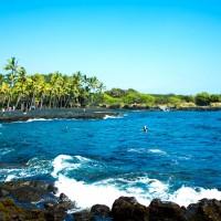 カウ Kau (ハワイ島)