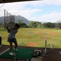 ハワイでゴルフデビュー!