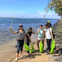 ハワイの海を綺麗にするイベント「ホノルル海さくら」ビーチクリーンアップ・レポート