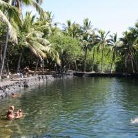 ハワイの温泉