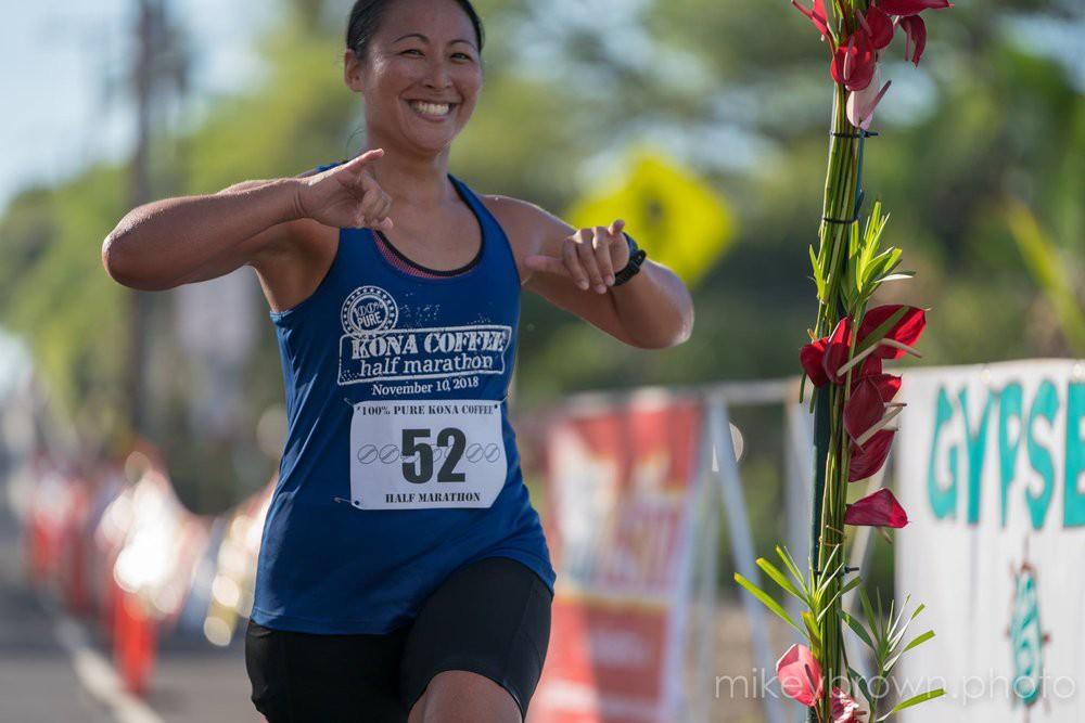 The 100% Pure Kona Coffee Marathon & Half Marathon