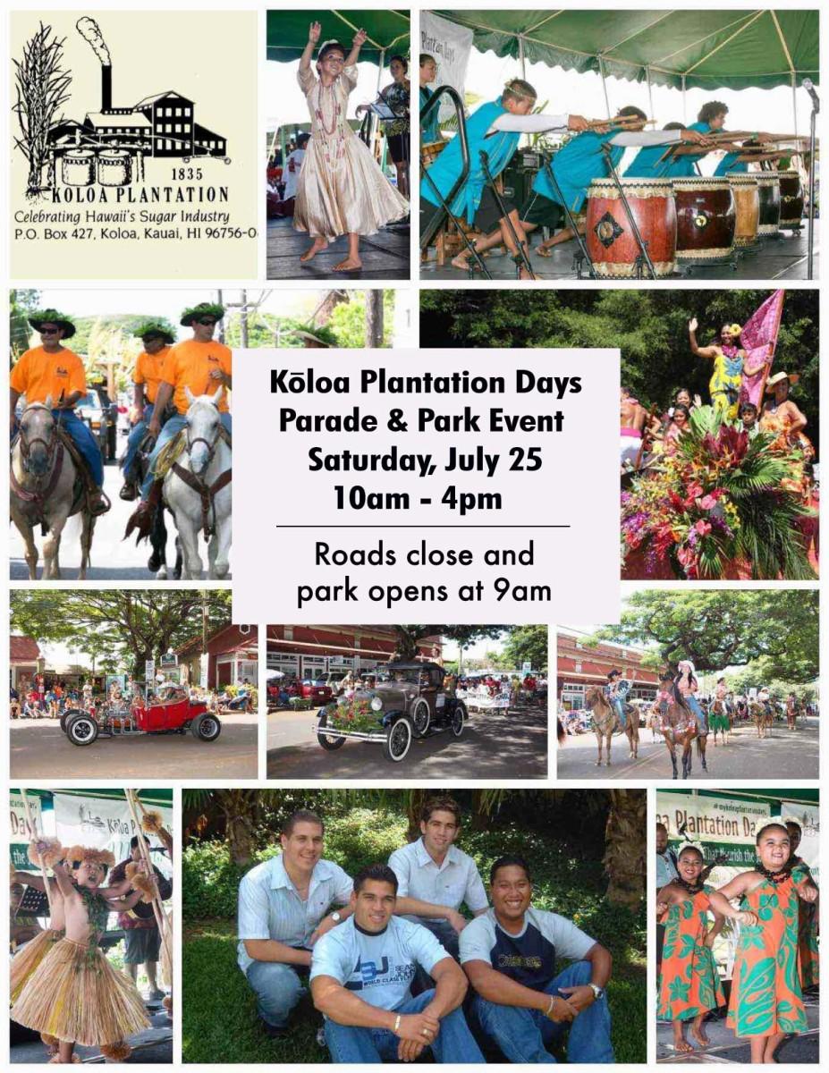 Koloa Plantation Days Festival 2020