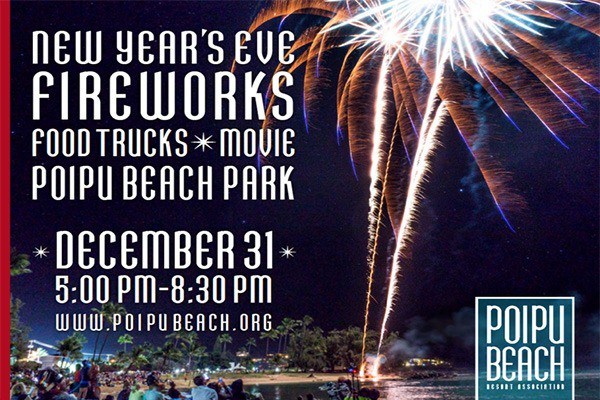 New Year's Eve Celebration@Po'ipu Beach Park