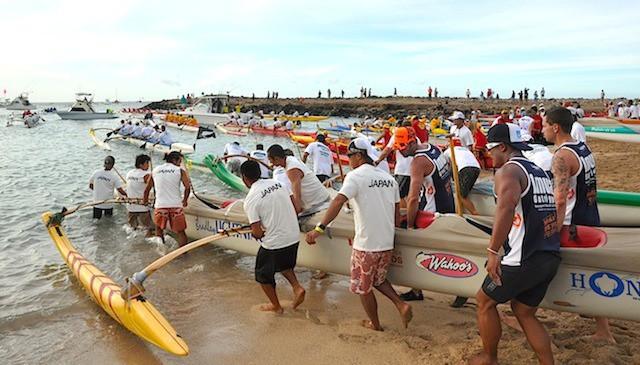 Moloka'i Canoe Festivals Kulaia