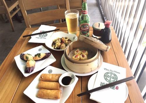 真夏の午後は、飲茶とビール! ティム・ホー・ワン ワイキキで『ビアガーデン&ハッピーアワー』開始