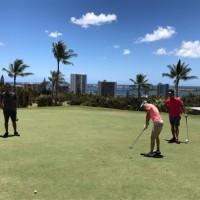 ハワイでゴルフを楽しもう!by Hawaii Palms English School