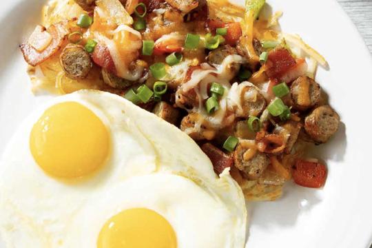 スピットファイヤーがメニューを刷新 朝食とローカルプレートランチのメニューが豊富に!