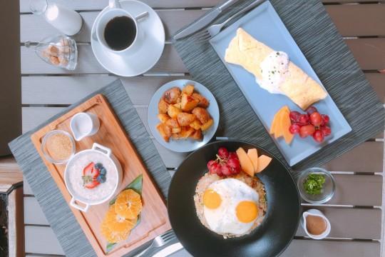 毎日焼きたてのペイストリーと美味しい朝食を提供