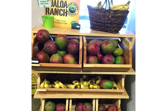 クアロアランチ産、新鮮フルーツが身近に!