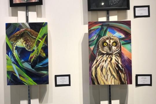 地元の高校生によるアートの展示販売会「ロイヤルギャラリー」開催!