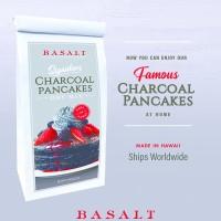 バサルトの特製チャコールパンケーキミックス、オンラインで発売開始! 日本にもハワイの味をお届けします!